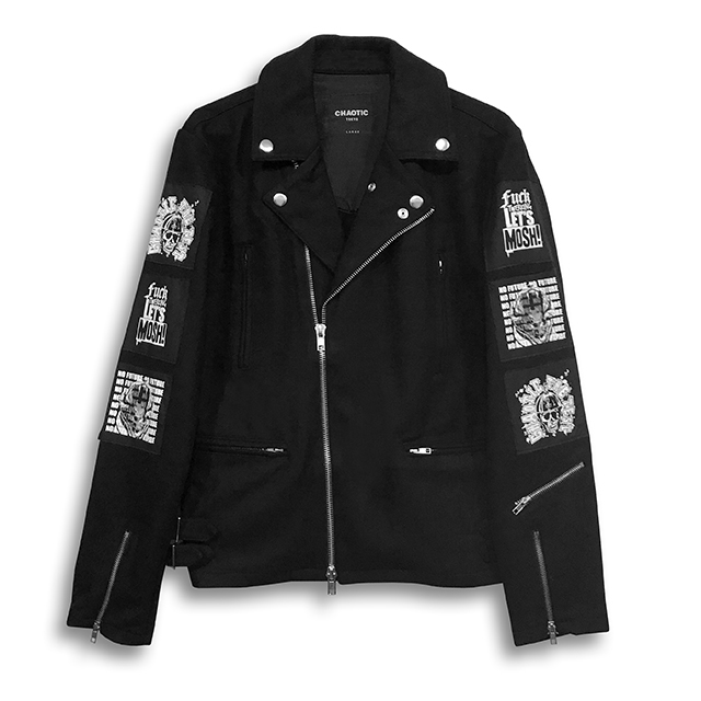CHAOTIC x THE TEST / RIDERS JACKET