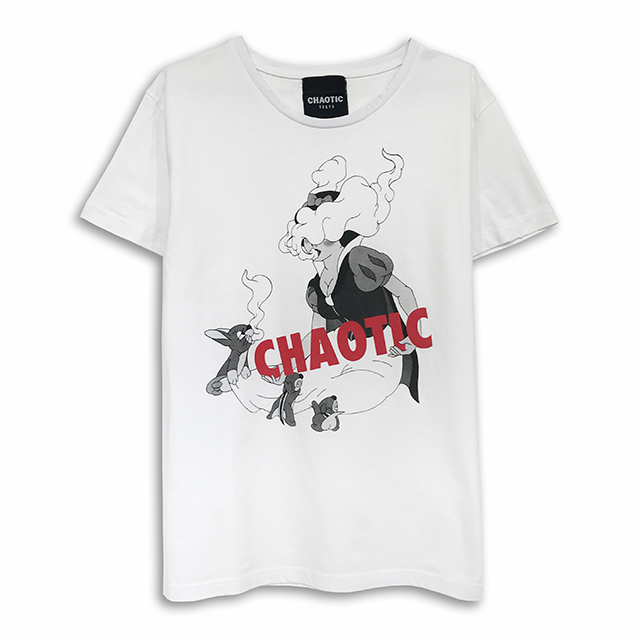 Smoke White DAMAGE Tee