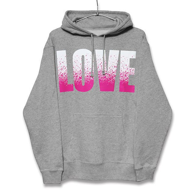 LOVE/HATE SPLASH HOODY