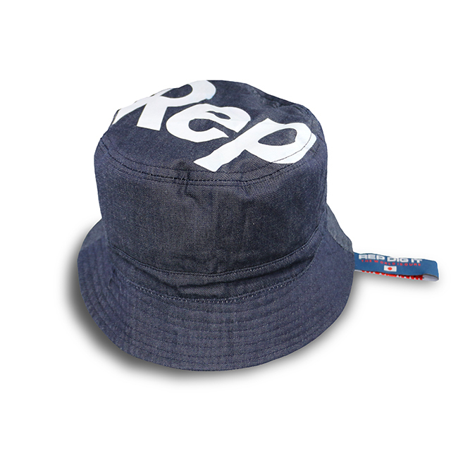 SLANT LOGO BUCKET HAT
