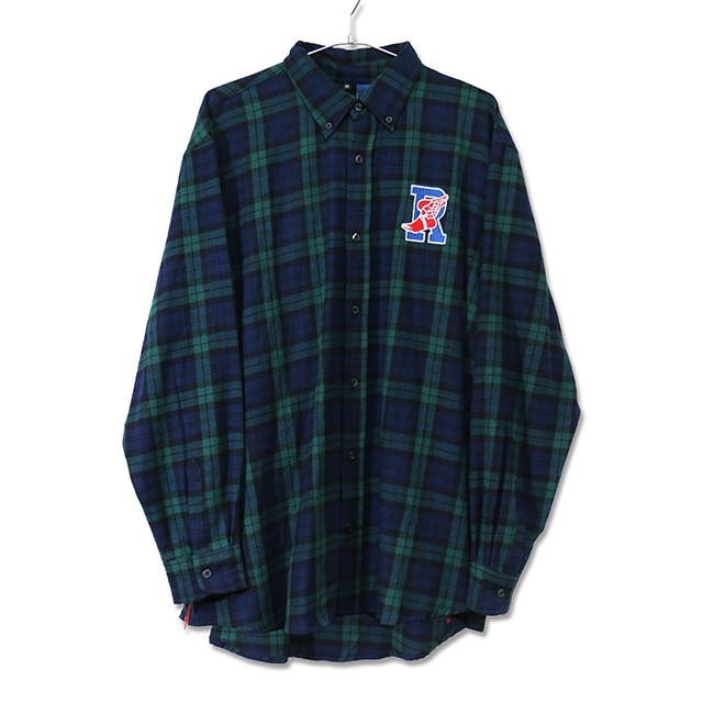 R-WING BB L/S CHECK SHIRT