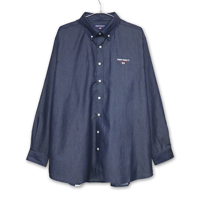 SLANT LOGO BD DENIM SHIRTS