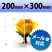 【有償サンプルサイズ】透明アクリル 押し出し板 200mm×300mm 厚み2mm