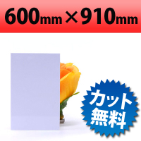 塩ビ板 ホワイト 600×910mm 厚み2mm