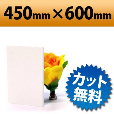 発泡塩ビ板 ピュアホワイト 450×600mm 厚み3mm