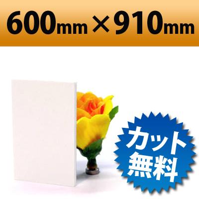 発泡塩ビ板 ピュアホワイト 600×910mm 厚み3mm