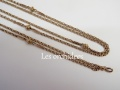antique pintchbeck maff chain necklace