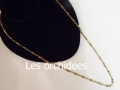 france antique gold chaine necklace