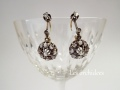french antique diamond earrings