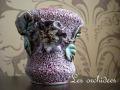 フランスアンティークバルボティーヌ花瓶