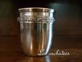 フランス アンティーク銀器 純銀リキュールカップ