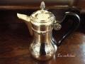 フランスアンティーク 純銀 コーヒーポット