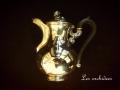 フランスアンティーク純銀コーヒーポット