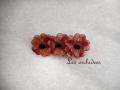 リア スタン lea stein three flowers 3輪の花
