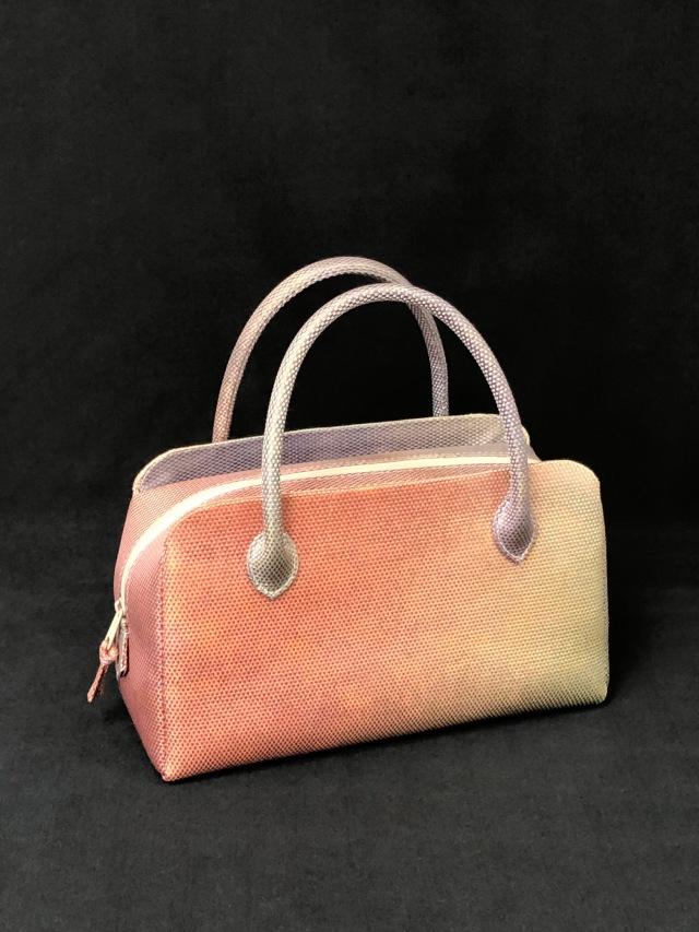 アウトレット販売商品 50%OFF 限定1個 高級帯地使用利休バッグ小型