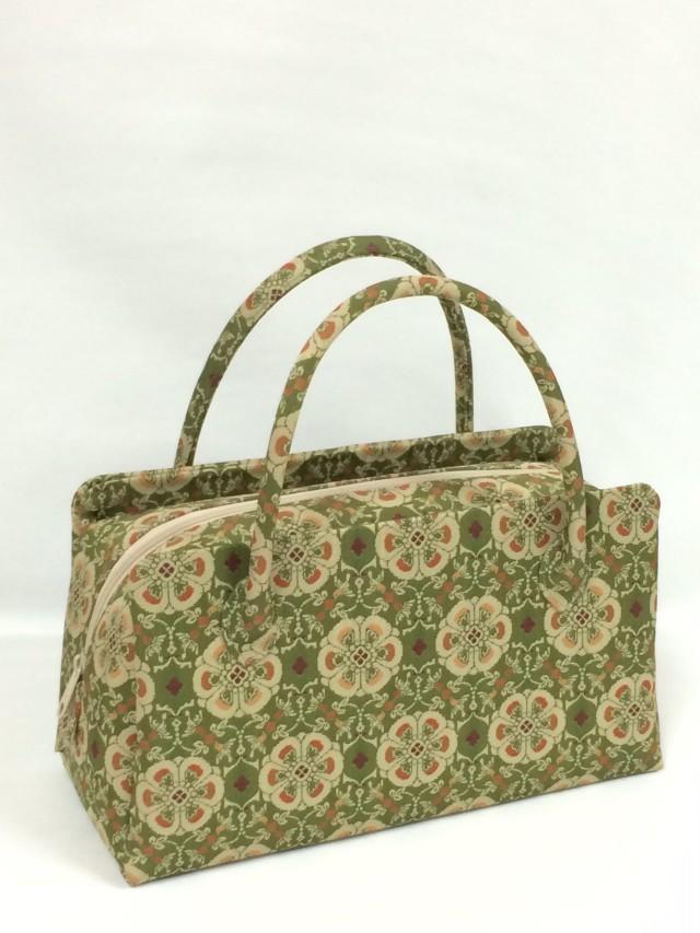 アウトレット販売商品  お年玉価格 限定1個 龍村美術織物裂地使用 No.419 利休バッグ小型