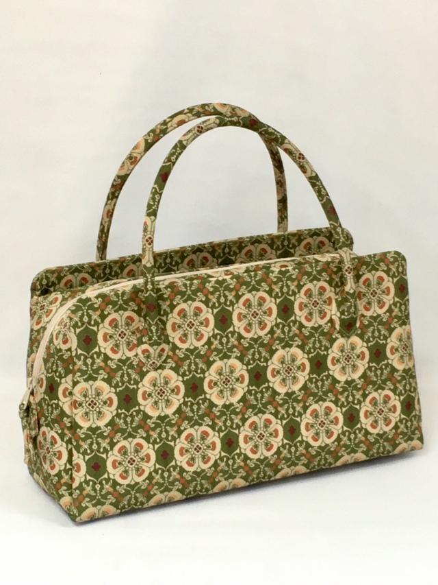 アウトレット販売商品  お年玉価格 限定1個 龍村美術織物裂地使用 No.421 利休バッグ中型