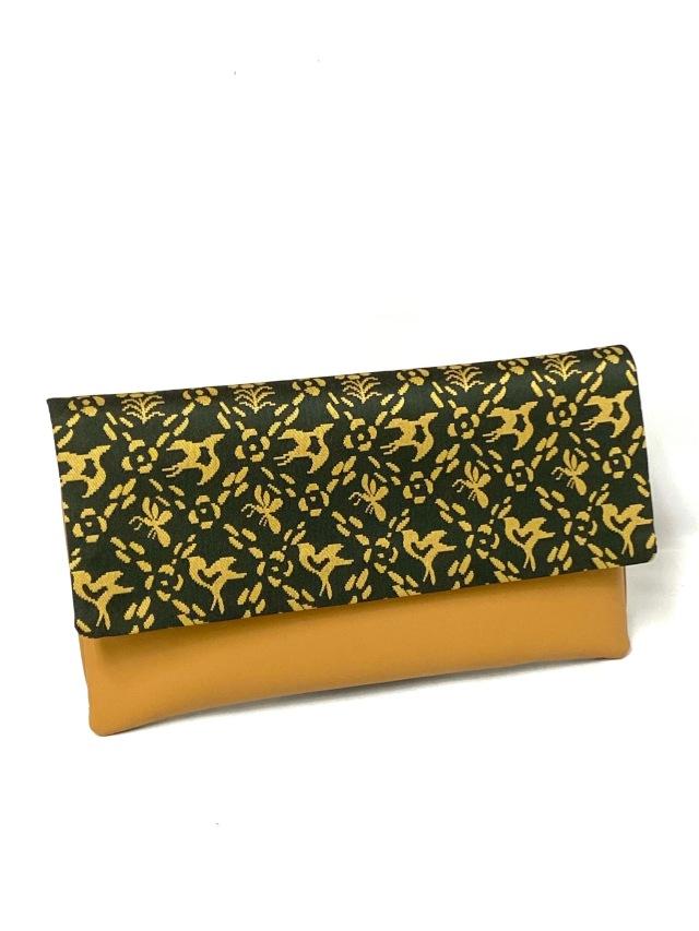 アウトレット価格 限定1個 龍村美術織物裂地使用 No.550 クラッチバッグ