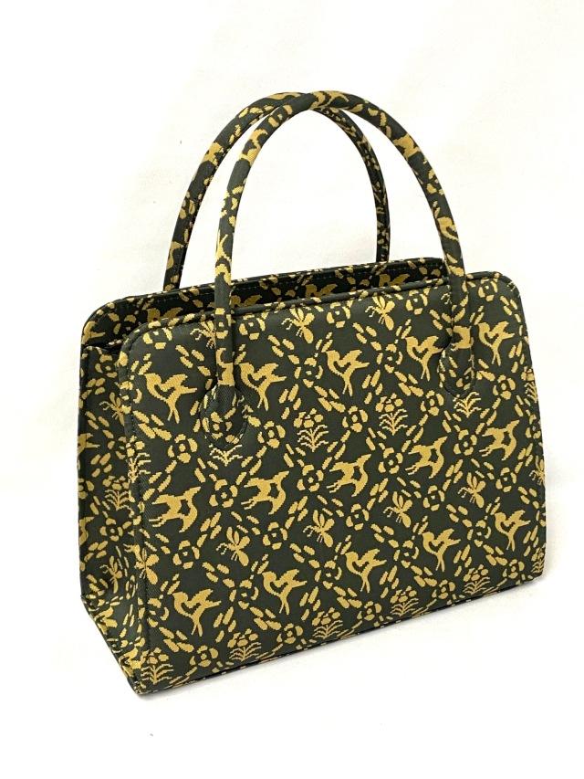 アウトレット価格 限定1個 龍村美術織物裂地使用 No.1056A 縦型新利休バッグ