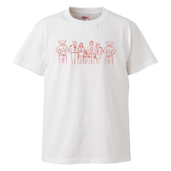 8番Tシャツ ハッスルブラザーズ