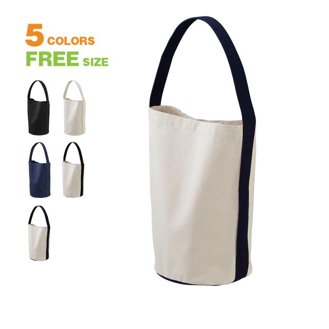 【A3サイズの雑誌がすっぽり収まる大容量のバッグ。バケツ型のシルエットがキャッチーなショルダーバッグ!大きめ メンズ レディース】ヘヴィーキャンバスワンショルダーバッグ-151901