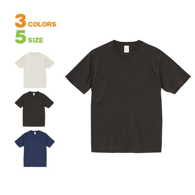 【一枚一枚の表情が楽しめる顔料染め+バイオウォッシュTシャツ。イチオシアイテムで差をつけるTシャツ メンズ 半袖  United Athle(ユナイテッドアスレ) 5.6オンス ピグメントダイ】無地 tシャツ 5.6ozピグメントダイTシャツ-502001