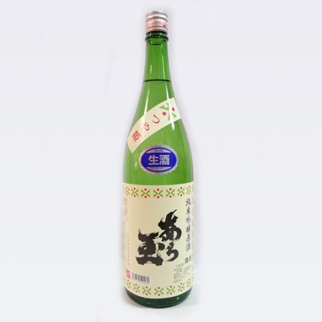 和田酒造 つや姫 純米吟醸 あら玉 生原酒 (1.8L) 冷蔵便で発送!【1月~3月季節限定商品】