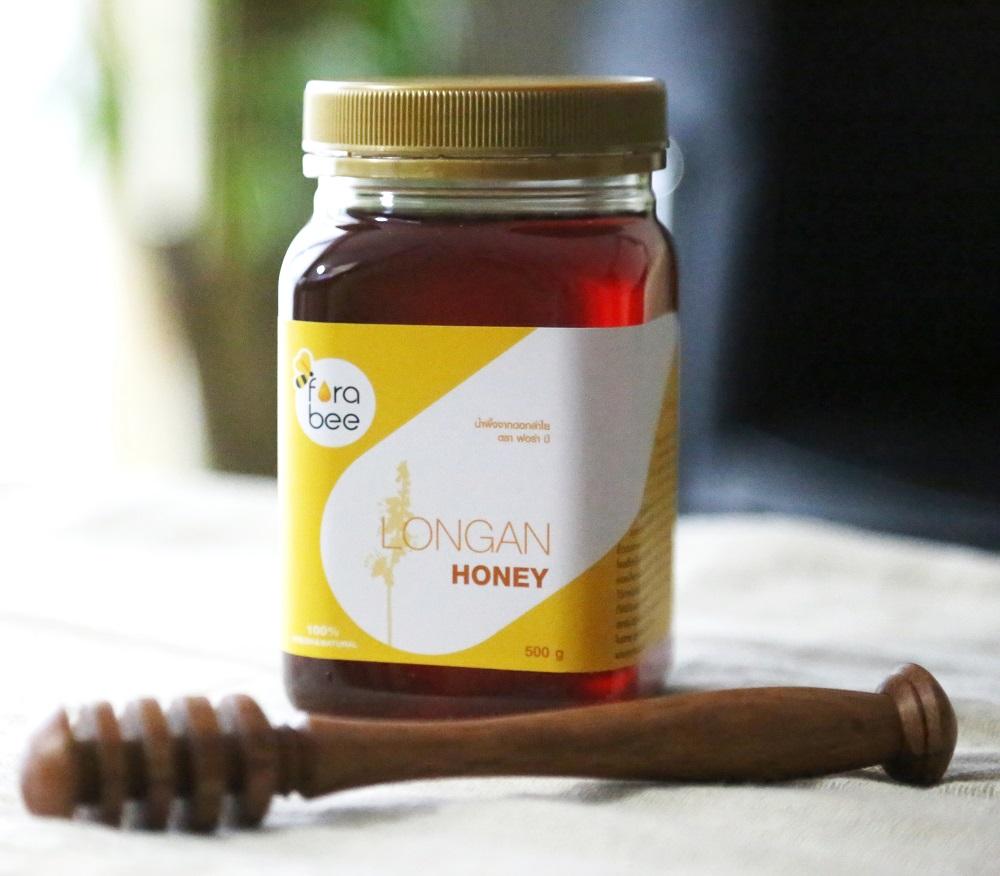 【非加熱・無農薬 ロンガンはちみつ 500g】漢方生薬100%のロンガンから採取された花蜜を原材料 農薬や抗生物質を一切使用 のロンガンはちみつ