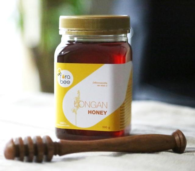 【 送料無料 】【 非加熱・無農薬 ロンガンはちみつ 500g 】漢方生薬100%のロンガンから採取された花蜜を原材料 農薬や抗生物質を一切使用 のロンガンはちみつ
