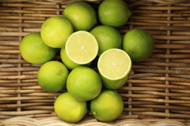 【 特別栽培 瀬戸内ライムA品1kg 】※農薬不使用レモン、無農薬レモン、コンフィチュール(送料無料商品は可)との同梱は不可。只今黄色に色づいています。
