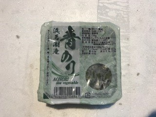 青のり 1パック(150g)  *冷凍