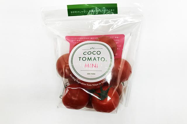 【東京野菜】 ココトマトミニ 1パック=200g ※火・金・土のみお届け可能 (清瀬産)