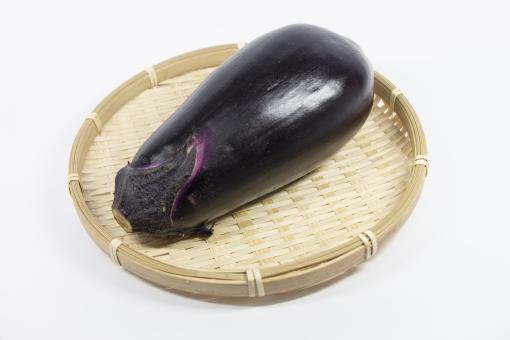(西条野菜)希少絹かわ茄子(愛媛産)1個