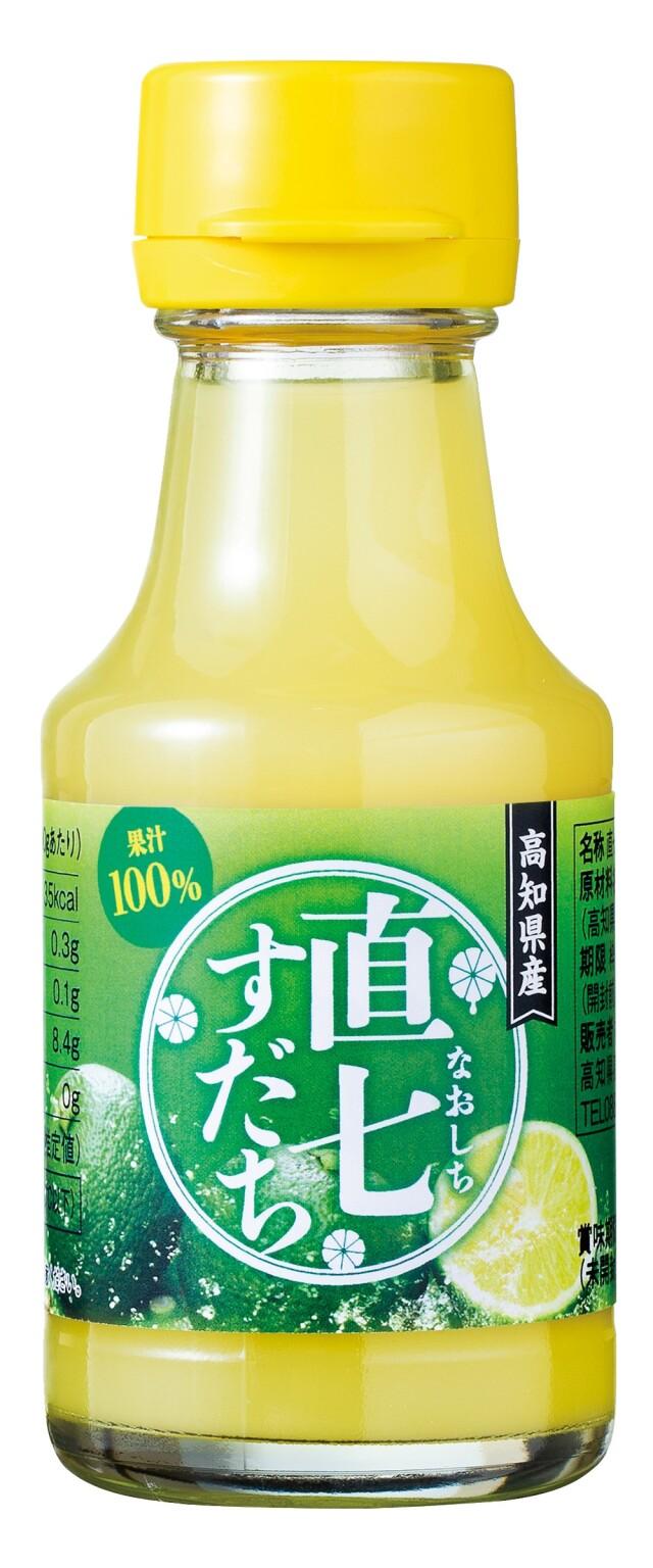 100%すだち果汁(直七すだち) 1本=100ml