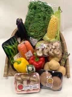 こだわり野菜のBBQセット