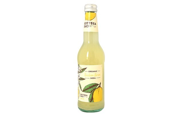 Bottega Baci 有機シチリアンレモンソーダ 355ml