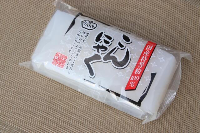 白こんにゃく  (メーカー:HARA) 1パック=250g