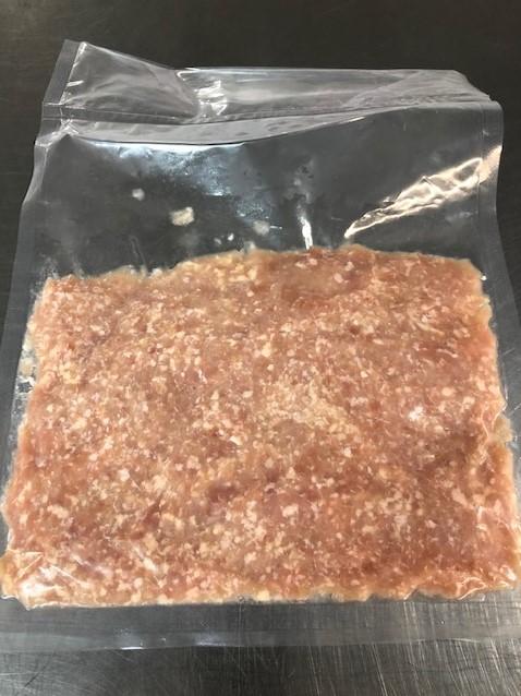 鶏挽肉 日本産 1パック:500g入り真空パック<冷凍>