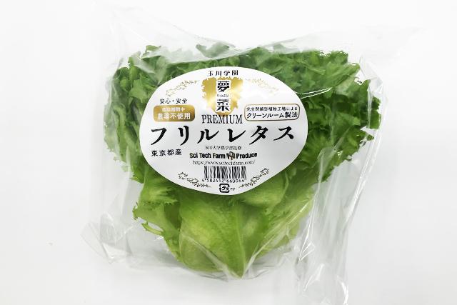【東京野菜】 プレミアムフリルレタス 1パック=150g※火・土のみお届け可能 (町田産)
