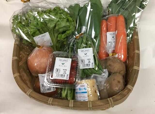 有機野菜セット(9種類)