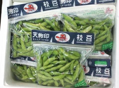 天狗枝豆 (味緑) 1パック=250g  群馬産
