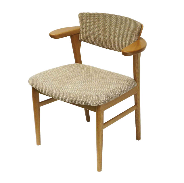 腰の椅子 Awaza LD オーク:ナラ 座面布張  いのうえアソシエーツ  ダイニングチェア