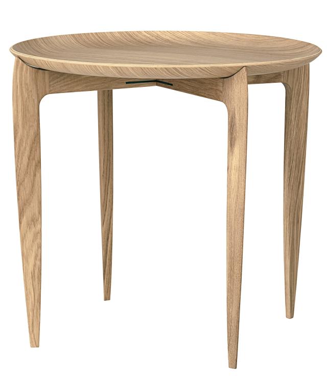 FRITZHANSEN(フリッツハンセン)Tray Table(トレイテーブル)折りたたみ式 45cm オーク
