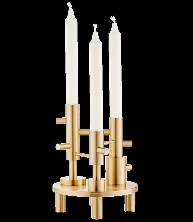 FRITZHANSEN(フリッツハンセン)Candle holder(キャンドルホルダー)ラージ 高さ20cm 真鍮