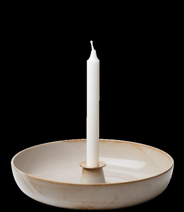 FRITZHANSEN(フリッツハンセン)Candle holder(キャンドルホルダー)ライトトレイ 陶器