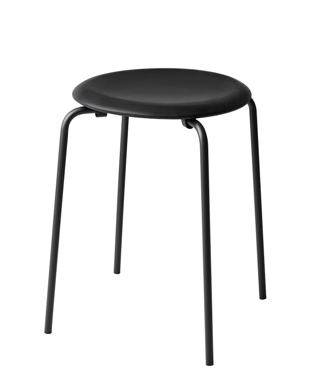 FRITZHANSEN(フリッツハンセン)dot stool(ドットスツール,粉体塗装仕上げスチール脚, レザー