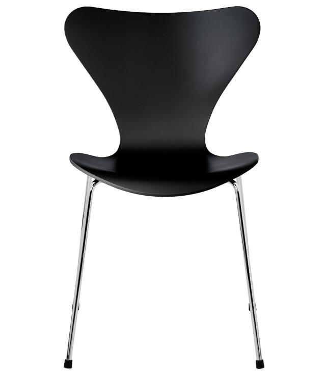 FRITZHANSEN(フリッツハンセン)serie7(セブンチェア) 3107, lacquer(ラッカー) BLACK (ブラック)ベースカラー選択可
