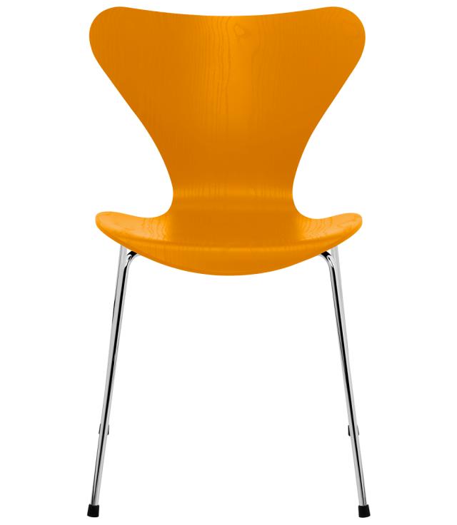 FRITZHANSEN(フリッツハンセン)serie7(セブンチェア)3107, coloured ash(カラードアッシュ) BURNT YELLOW (バーントイエロー)ベースカラー選択可