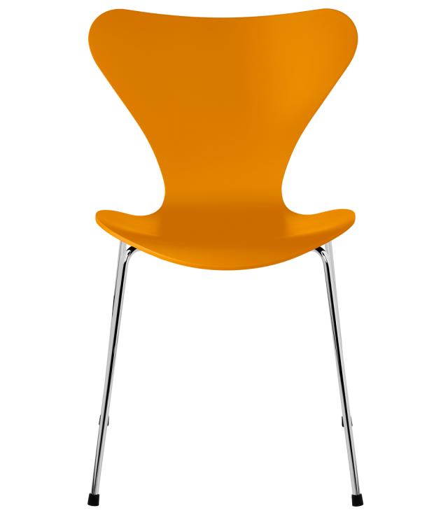 FRITZHANSEN(フリッツハンセン)serie7(セブンチェア)3107,  lacquer(ラッカー) BURNT YELLOW (バーントイエロー)ベースカラー選択可