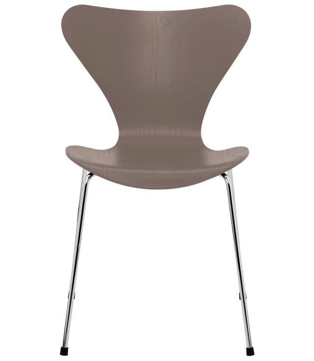 FRITZHANSEN(フリッツハンセン)serie7(セブンチェア)3107, coloured ash(カラードアッシュ) DEEP CLAY (ディープクレイ)ベースカラー選択可